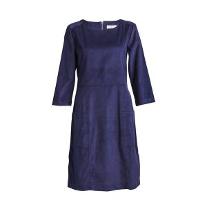 cord shift dress