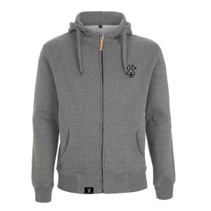 Bear face Logo Zip Hoody