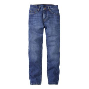 womens tapered organic jeans