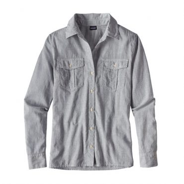 Patagonia Womens Air Conditioning Shirt (Sprinkle/Navy Blue)