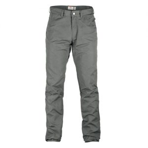 fjallraven grey trousers