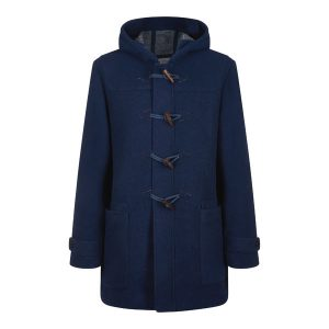 navy duffel coat