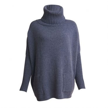 Bibico Adela Oversized Jumper (Grey)