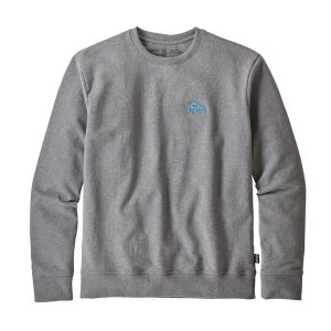 patagonia small flying fish sweatshirt