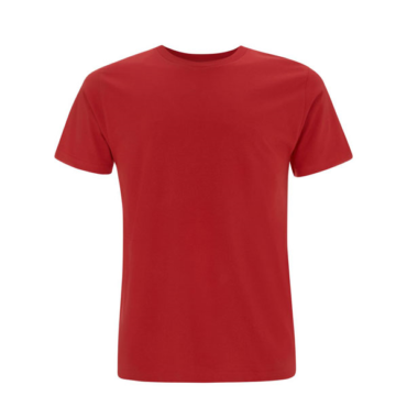 Continental Unisex Organic Cotton T (Red)