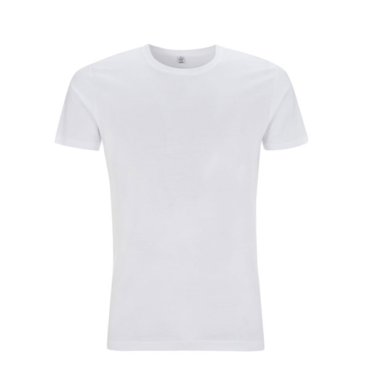 Continental Slim Fit Organic Cotton T-Shirt (White)