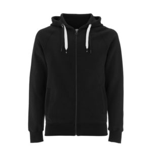 black zip up hoody