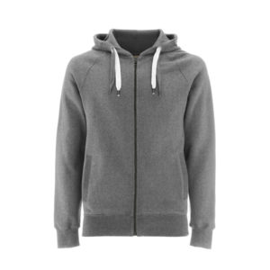 grey zip up hoody