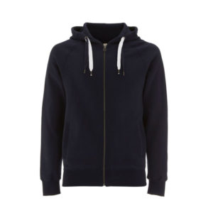 navy blue zip up hoody