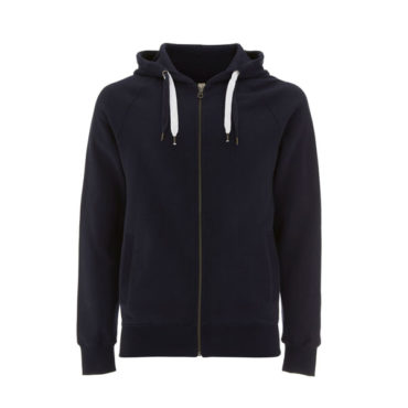 Continental Unisex Earthpositive Zip-Up Hoody (Navy)