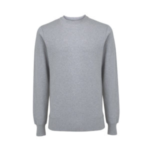 Grey organic cotton sweatshirt