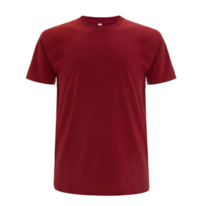 Continental regular fit dark red t-shirt