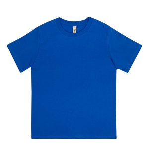 Kids blue organic cotton t-shirt