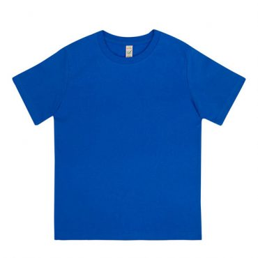 Earth Positive Junior T-Shirt in Bright Blue