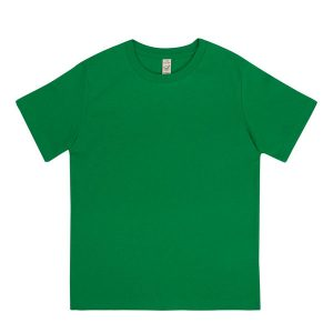 bright green kids organic cotton t-shirt