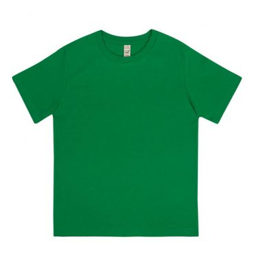 Earth Positive Junior T-Shirt in Kelly Green