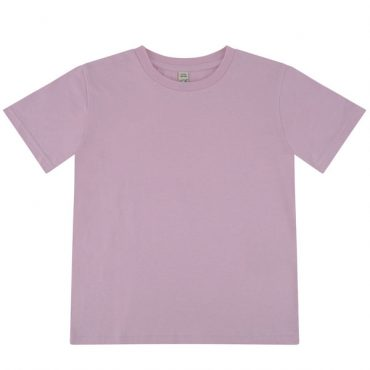 Earth Positive Junior T-Shirt in Sweet Lilac