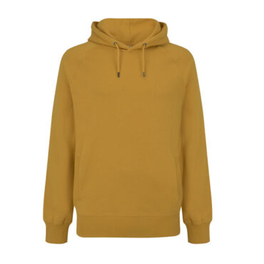 Earthpositive Heavyweight Organic Cotton Hoody in Mango