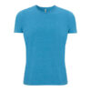 Mid Blue T-Shirt made from 100% Recycled materials