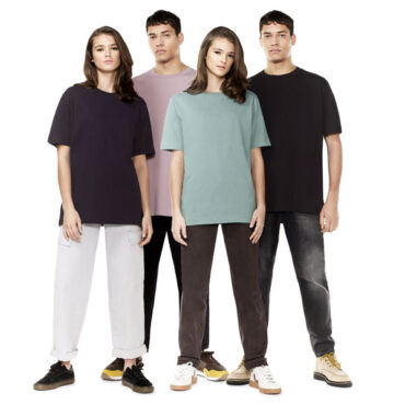 Organic Cotton Oversized T-Shirt in Three Colours