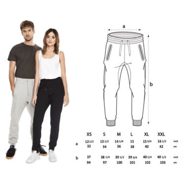 Organic Cotton Joggers in Navy, Black, and Grey